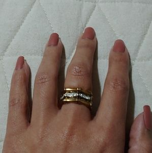 SS stretch bamboo ring
